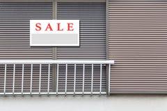 A venda Real Estate assina imagens de stock