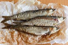 Vendace smoked to perfection Royalty Free Stock Photos