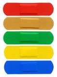 Vendajes adhesivos Fotografía de archivo