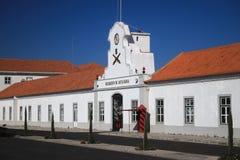 VENDAS新星,葡萄牙- 2017年11月18日:火炮实践S 库存照片
