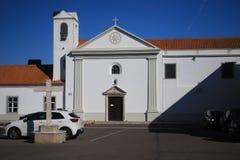 VENDAS新星,葡萄牙- 2017年11月18日:皇家教堂  免版税库存图片
