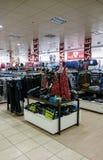 Vendas do disconto em C e em uma loja Imagem de Stock