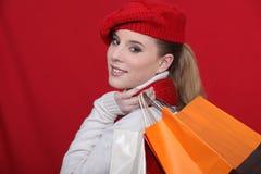 Vendas do inverno! Imagens de Stock Royalty Free