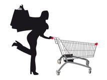 Vendas e compra Imagem de Stock