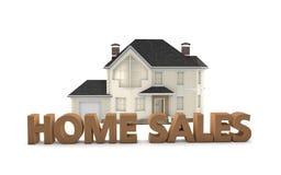 Vendas home de Real Estate ilustração royalty free