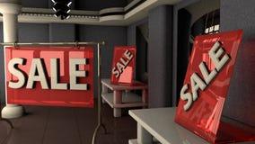 Vendas no assoalho de troca Foto de Stock