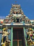 Vendaval del fuerte del templo hindú de Shiwa Shiwa imagenes de archivo
