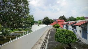 Vendeburgh in Yogyakarta Royalty-vrije Stock Afbeeldingen