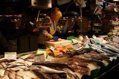 Vendedor 3 dos peixes Foto de Stock Royalty Free
