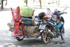 Vendedor ambulante Imagen de archivo libre de regalías
