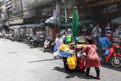 Vendedor ambulante Fotografia de Stock