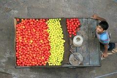 Vendedor ambulante Imagem de Stock