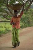 Vendedor ambulante de calle Foto de archivo