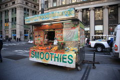 Vendedor ambulante de New York Imagens de Stock