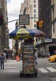 Vendedor ambulante de New York Foto de Stock Royalty Free