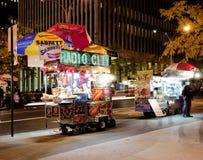 Vendedor ambulante de Nueva York Fotos de archivo libres de regalías