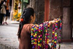 Vendedor ambulante del arte Imagen de archivo