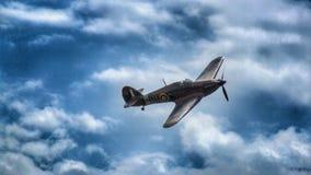 Vendedor ambulante Hurricane Mk Mim aviões em Goraszka no Polônia fotografia de stock