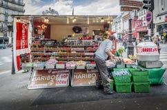 Vendedor ambulante Selling Sweets fotografía de archivo
