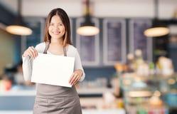 Vendedor da padaria Foto de Stock