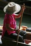 Vendedor de flutuação Imagens de Stock