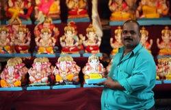 Vendedor de Ganesha Fotografia de Stock