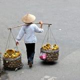 Vendedor de la calle Imagenes de archivo