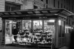 Vendedor de la flor Fotos de archivo libres de regalías