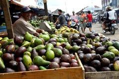 Vendedor de la fruta Foto de archivo