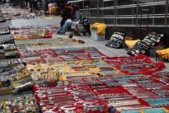 Vendedor de la joyería en Shangai Imagen de archivo libre de regalías
