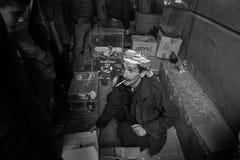 Vendedor de la paloma Imagen de archivo libre de regalías