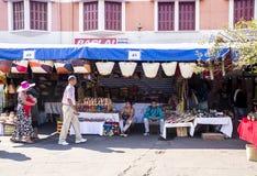 Vendedor de produtos do ofício Imagem de Stock Royalty Free