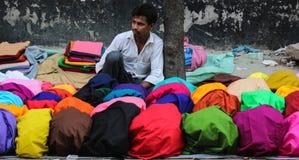 Vendedor de rua Imagens de Stock