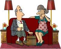 Vendedor de seguro Imagem de Stock Royalty Free