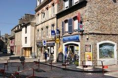 Vendedor de tabacaria em Saint Brieuc Foto de Stock Royalty Free
