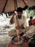 Vendedor de Thadal Fotografia de Stock Royalty Free