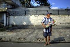 Vendedor del cigarrillo Imagenes de archivo