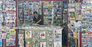 Vendedor del compartimiento Imagen de archivo libre de regalías
