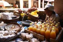 Vendedor del mercado Foto de archivo