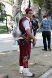 Vendedor del té en Estambul Fotos de archivo