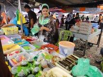 Vendedor do bolo de Ramadan Fotos de Stock