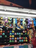 Vendedor do carnaval, Ennis, Texas Fotografia de Stock Royalty Free