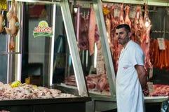 Vendedor grego da erva Fotos de Stock