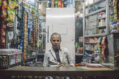 Vendedor indiano Imagens de Stock