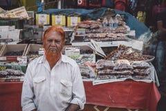 Vendedor indiano Fotografia de Stock Royalty Free