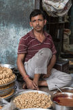 Vendedor indiano Imagens de Stock Royalty Free