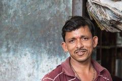 Vendedor indiano Imagem de Stock