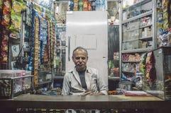 Vendedor indio Imagenes de archivo