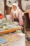 Vendedor Woman Fotografía de archivo libre de regalías