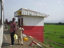 Vendedores África da borda da estrada Fotos de Stock